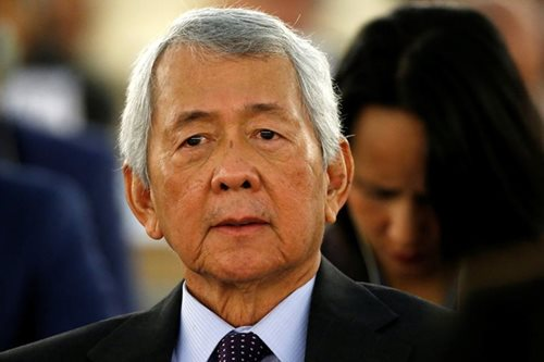 Locsin pays tribute to Yasay: 'He hurt no one and helped everyone he could'