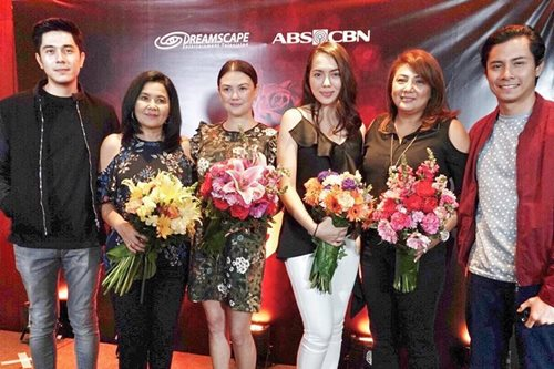 LOOK: Lorna Tolentino returns to ABS-CBN