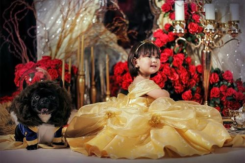 IN PHOTOS: Scarlet Snow dresses up as Belle