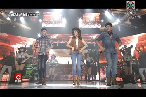 WATCH: Darren, Inigo, Sarah team up on 'ASAP'