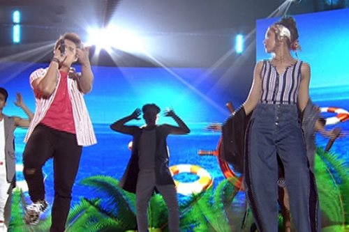WATCH: Sarah, Enrique perform 'All in My Head'