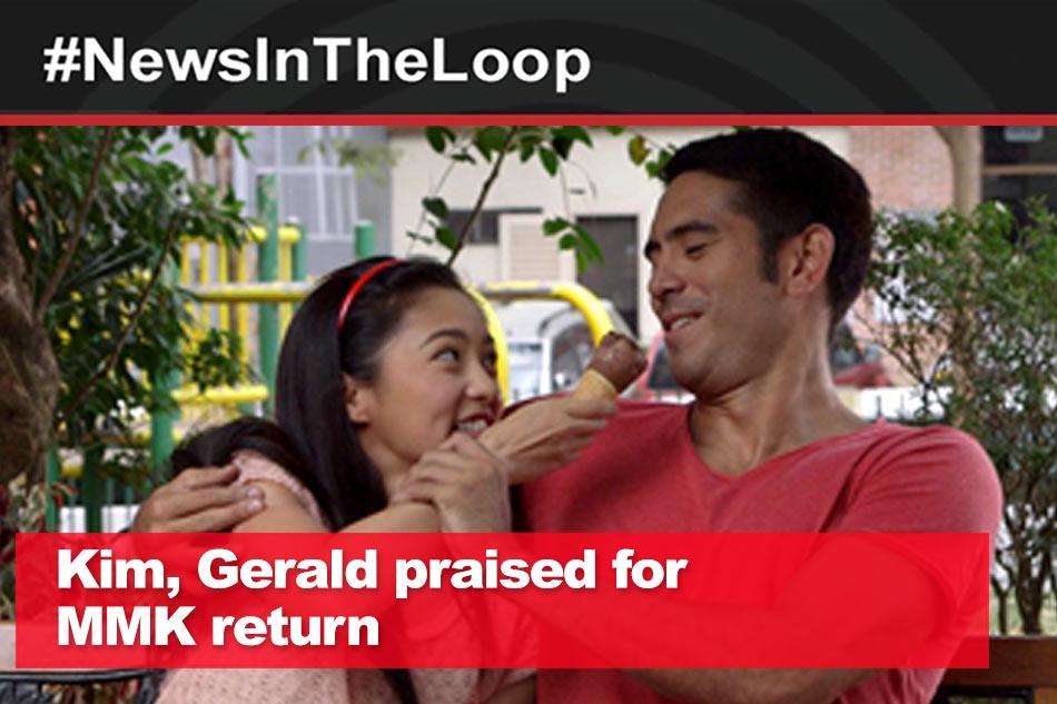 In the Loop: Kim, Gerald praised for MMK performance