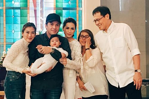 LOOK: Dedication of Toni's son Seve