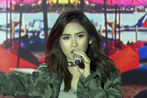 WATCH: Sarah G sings 'Chained to the Rhythm'