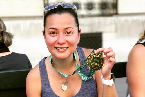 Filipino runners join thousands in Paris marathon