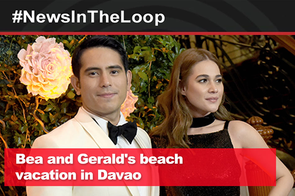 In the Loop: Bea and Gerald's beach vacation in Davao