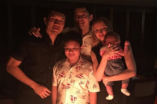 James Yap shares birthday message for son Bimby