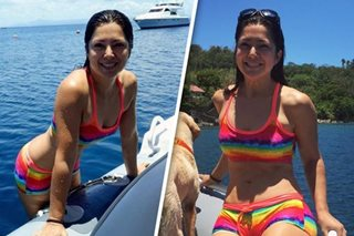 Alice Dixson proves she's an ageless beauty in new swimsuit pics