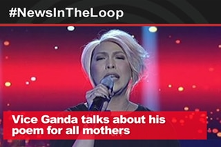 In the Loop: Vice Ganda talks about his poem for mothers