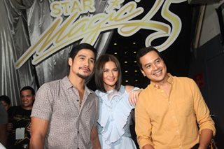 PANOORIN: Shout-out nina Papa P, John Lloyd sa Star Magic