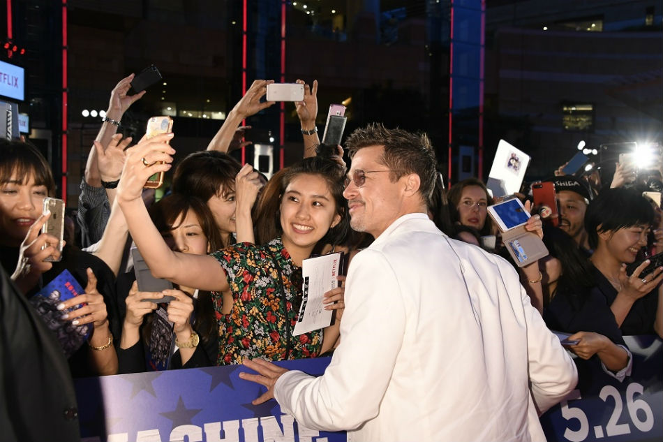 IN PHOTOS: Japan premiere of Brad Pitt's Netflix film | ABS
