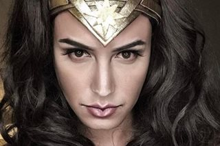 Paolo Ballesteros looks amazing as Gal Gadot's Wonder Woman