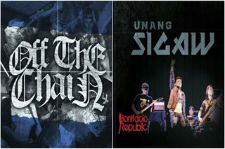 Rock bands Off the Chain, Bonifacio Republic release debut albums