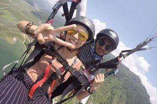 WATCH: Kim Chiu goes paragliding in Nepal