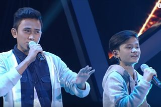 'Voice Teens': Sarah pits contest veteran against young crooner