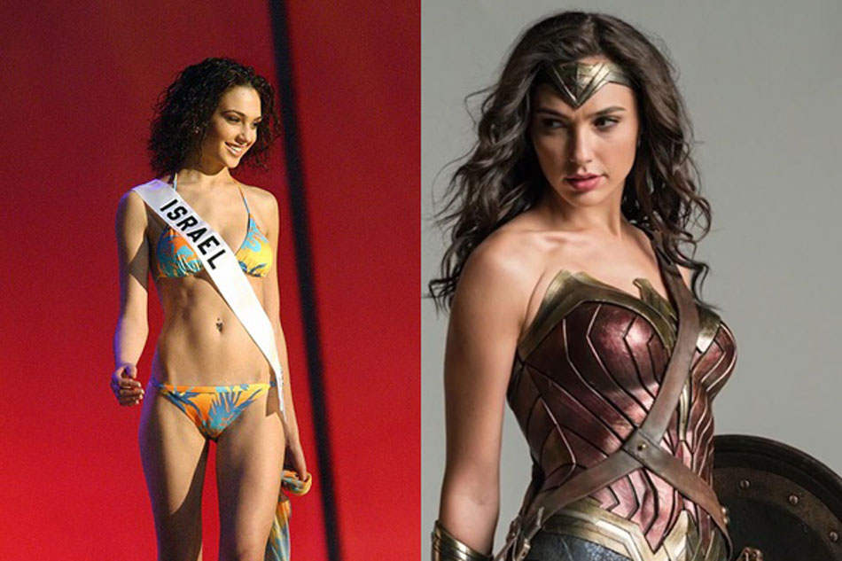 look wonder woman star gal gadot competes for miss universe title