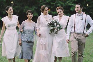 'Hindi mo mapigilan': Why Arci Muñoz cried during sister's wedding