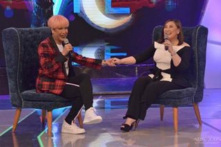 WATCH: Emotional Vice Ganda thanks Sharon Cuneta