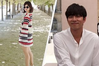 Anne Curtis, Gong Yoo in Paris at the same time but ...