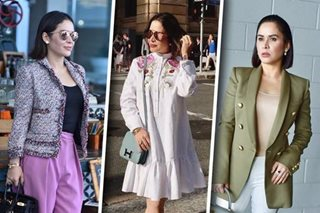 IN PHOTOS: Jinkee Pacquiao steps out in style in Brisbane
