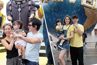 LOOK: Prats family, Andi Manzano take adorable kids out in Singapore