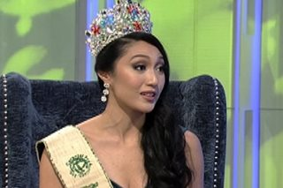 WATCH: Miss PH Earth has message for Donald Trump