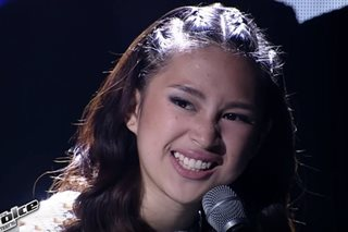 Isabela Vinzon is Bamboo's bet in 'Voice Teens' finals