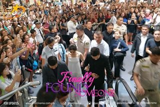 Grand premiere ng 'Finally Found Someone', dinagsa ng fans