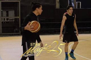TINGNAN: Daniel, naghahanda na para sa Star Magic All Star Games