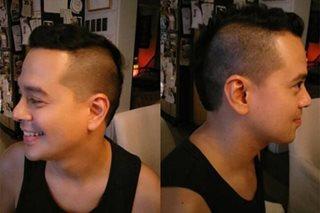 John Lloyd, binida ang bagong hairstyle