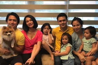 LOOK: Jennylyn, Dennis, Patrick, Nikka and their kids in one photo