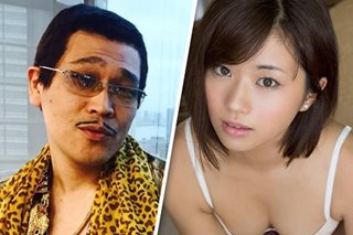 'Pen-Pineapple-Apple-Pen' singer Piko Taro marries gravure model Hitomi Yasueda
