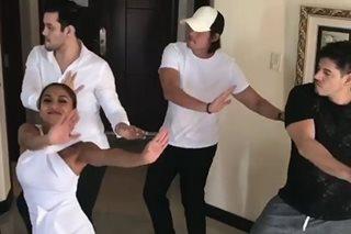 Abztract boys Arthur, Dingdong reunite in Rochelle's fun dance clip