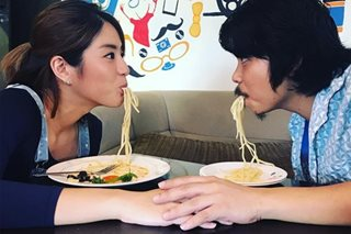 LOOK: Empoy 'scores' with Gretchen Ho