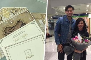 LOOK: Vicki Belo, Hayden Kho's wedding invitations
