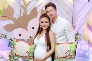 Bangs Garcia reveals gender of first baby