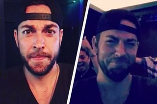 WATCH: Zachary Levi shares karaoke video from Manila trip