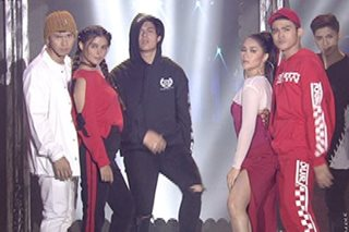 Inigo, Enchong, Enrique, Liza, Maja in show-stopping dance number