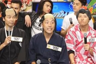 WATCH: Japanese comedians leave 'It's Showtime' viewers in fits of laughter