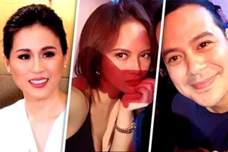 Toni asked about rumored romance between John Lloyd, Ellen
