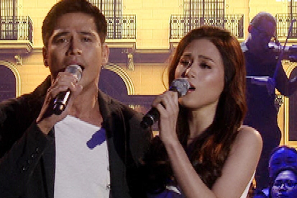 WATCH: Piolo, Toni perform theme song of 'Last Night'