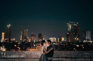 LOOK: Kean, Chynna in art-themed prenup shoot
