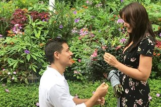 LOOK: Iza Calzado gets engaged to British boyfriend