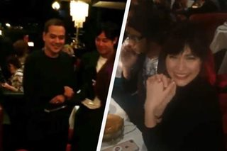 LOOK: John Lloyd, Bea Alonzo spotted in Paris