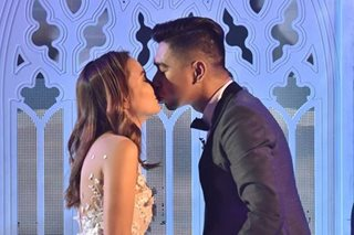 Here's the same-day edit video of Teddy's surprise wedding on 'It's Showtime'