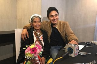 Whang-ud's dream comes true as she finally meets Coco Martin