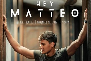 How Matteo's upcoming concert will be different