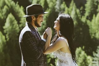 Anne, Erwan welcome guests in pre-wedding party in New Zealand