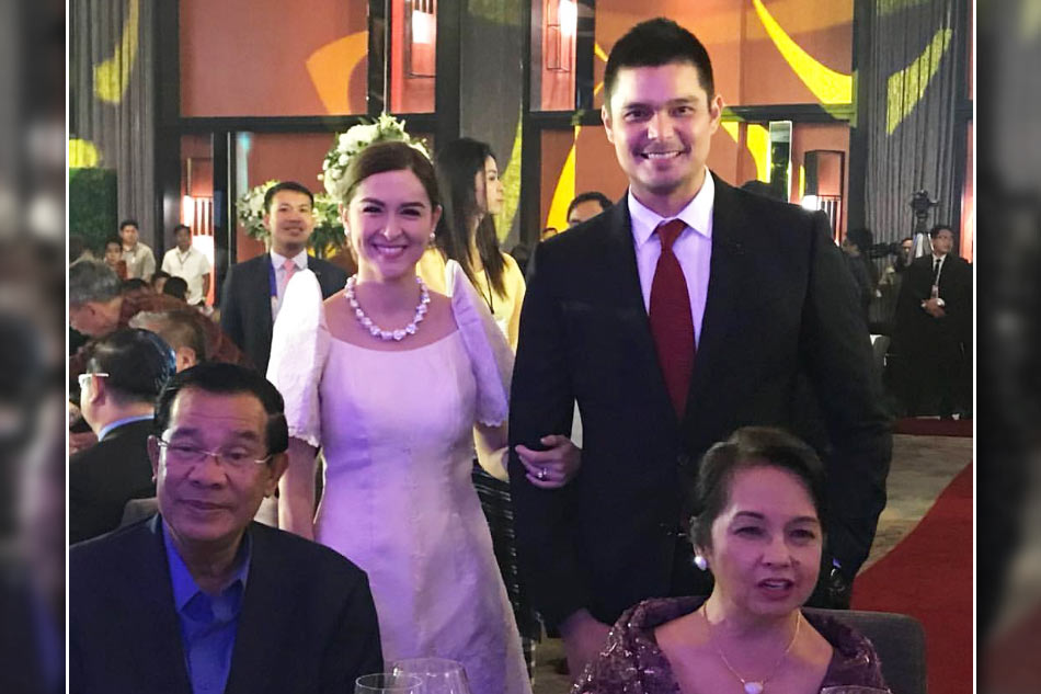LOOK: Marian, Dingdong meet Cambodian prime minister | ABS ...