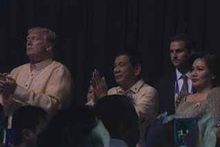 WATCH: Trump gives standing ovation to Pinoy artists at ASEAN gala dinner